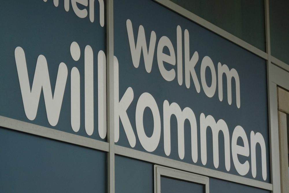 Airport Willkommen